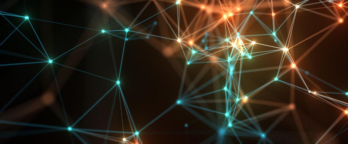 RECURSO futuro de la banca nodos fintech innovacion tech tecnologia background