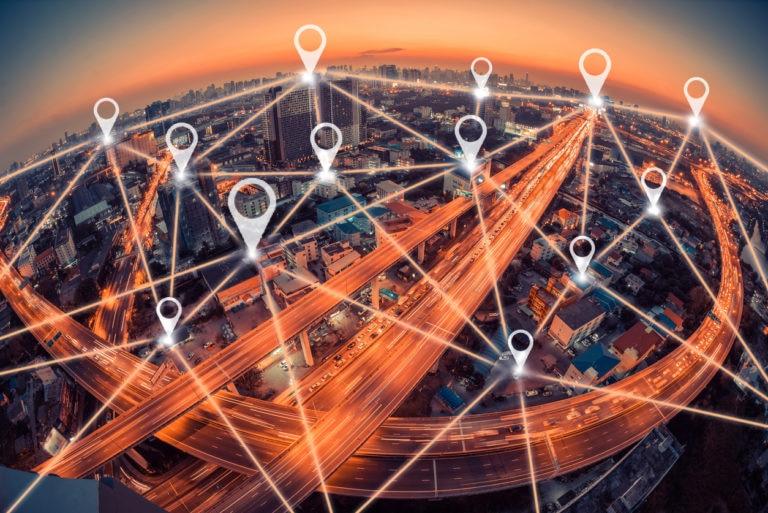 mapa geo ciudad carretera movimiento recurso tecnologia innovacion fintech