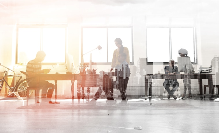 RECURSO tech trabajo oficina millennials startups pyme ordenador tecnologia innovacion ciudad