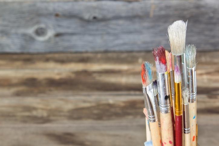 pinceles pintura recurso arte