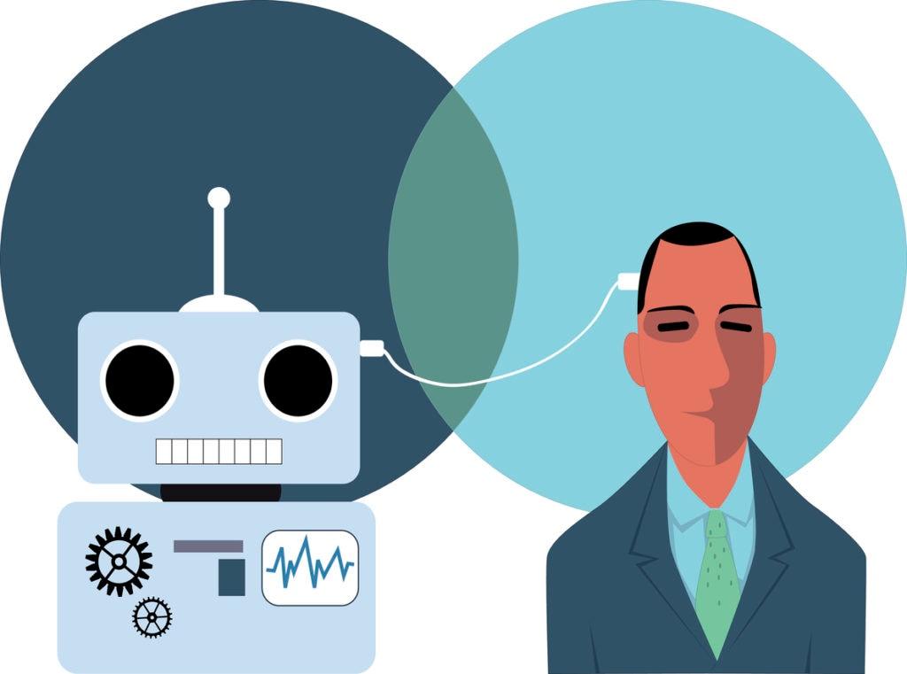 inteligencia artificial robot recurso tech tecnologia fintech conexion