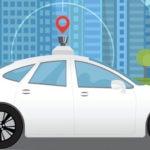 Self-driving driverless recurso tech coche autonomo inteligencia artificial satelite grafico dibujo innovacion tech