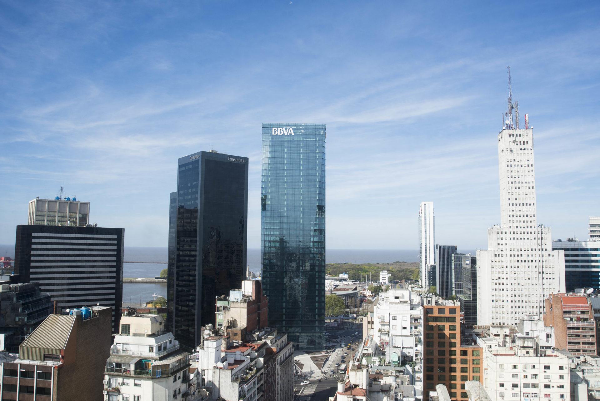fotografía de torre bbva frances buenos aires edificio arquitectura bbva