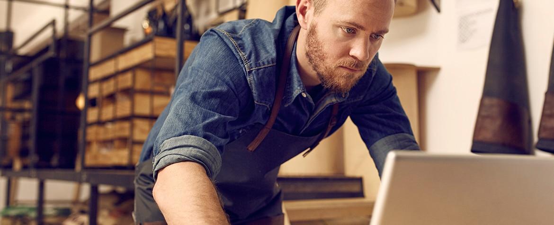 Autónomo, trabajador, trabajo, ordenador, economía, innovación, finanzas, recurso