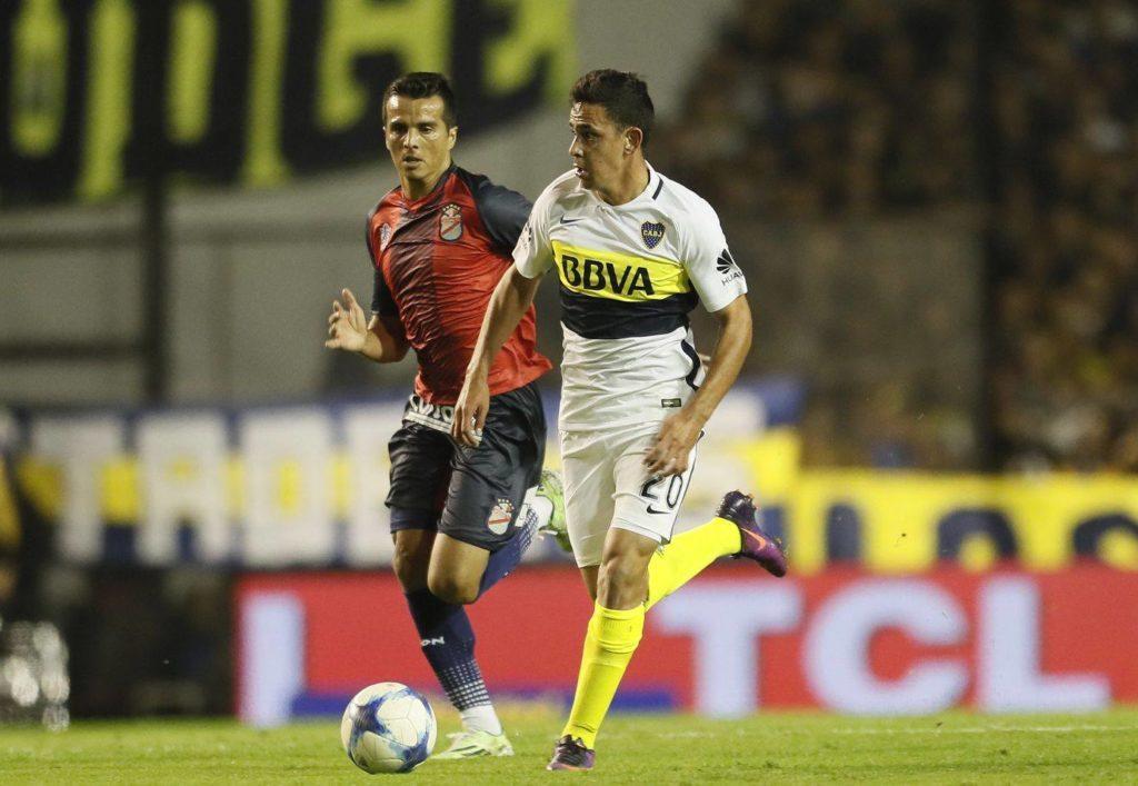 El pibe Maroni debutó con 18 años y marcó el tercer gol. BBVA