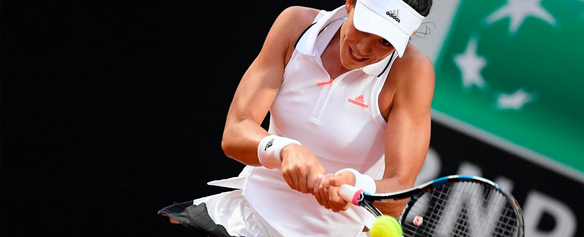 Garbiñe Muguruza vence a Venus Williams en Roma