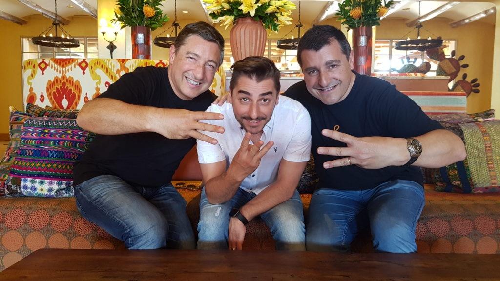 Joan, Jordi y Josep Roca y sus 3 estrellas Michelin