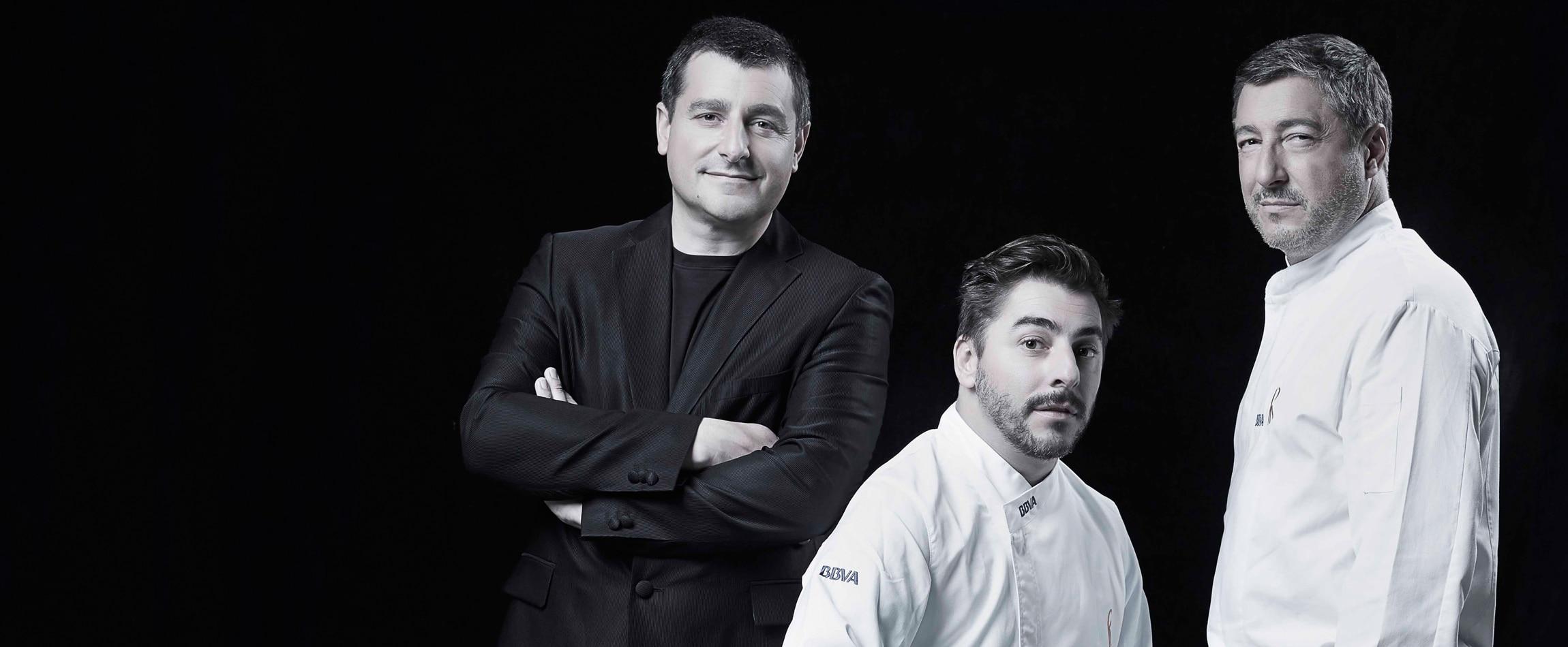 Josep, Jordi y Joan Roca por Gaby Herbstein