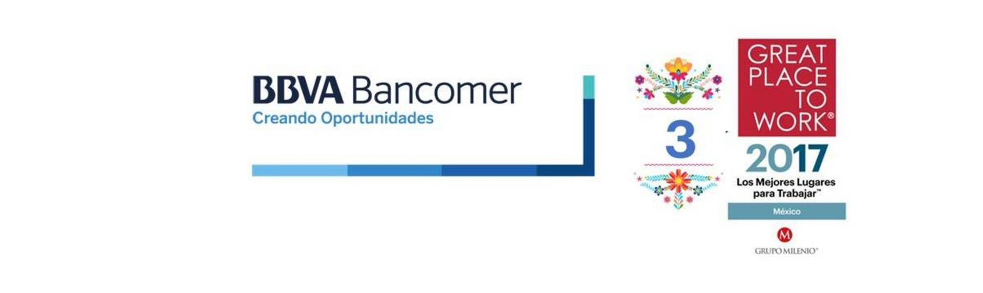 Bancomer tercer lugar en el Great Place to Work México