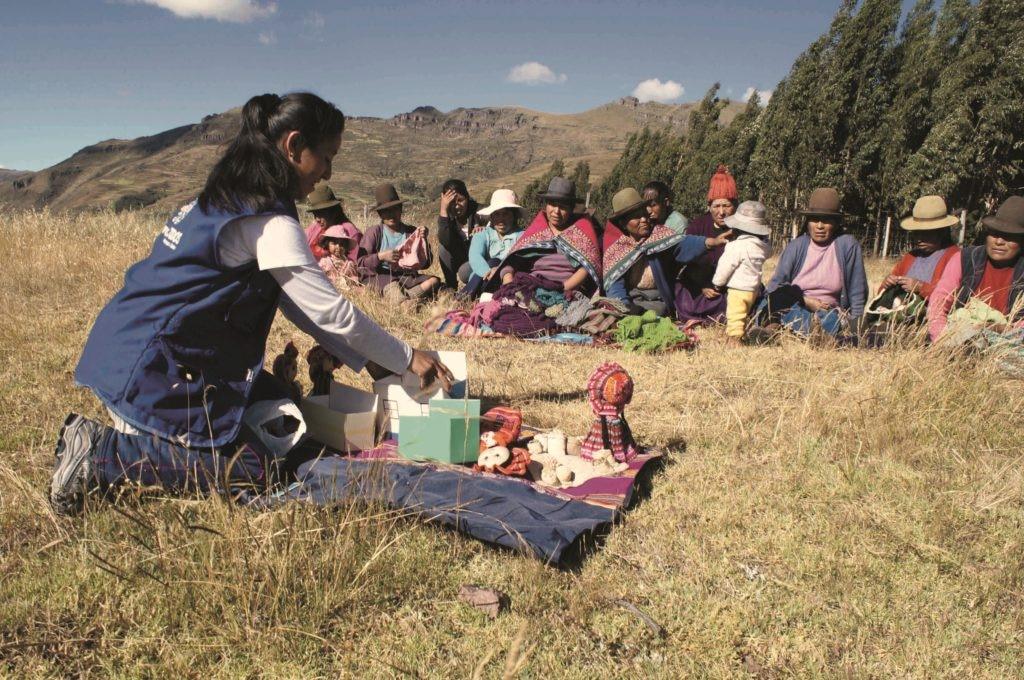 Fotografía de Rut Pelaiza de Financiera Confianza, FMBBVA en Perú
