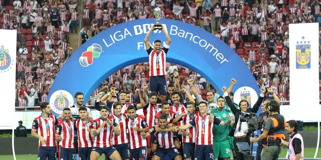 ¡Chivas, campeón de la Liga BBVA Bancomer!