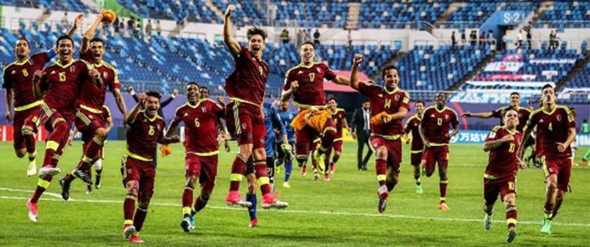Selección de fútbol sub-20 de VenezuelaSelección de fútbol sub-20 de Venezuela