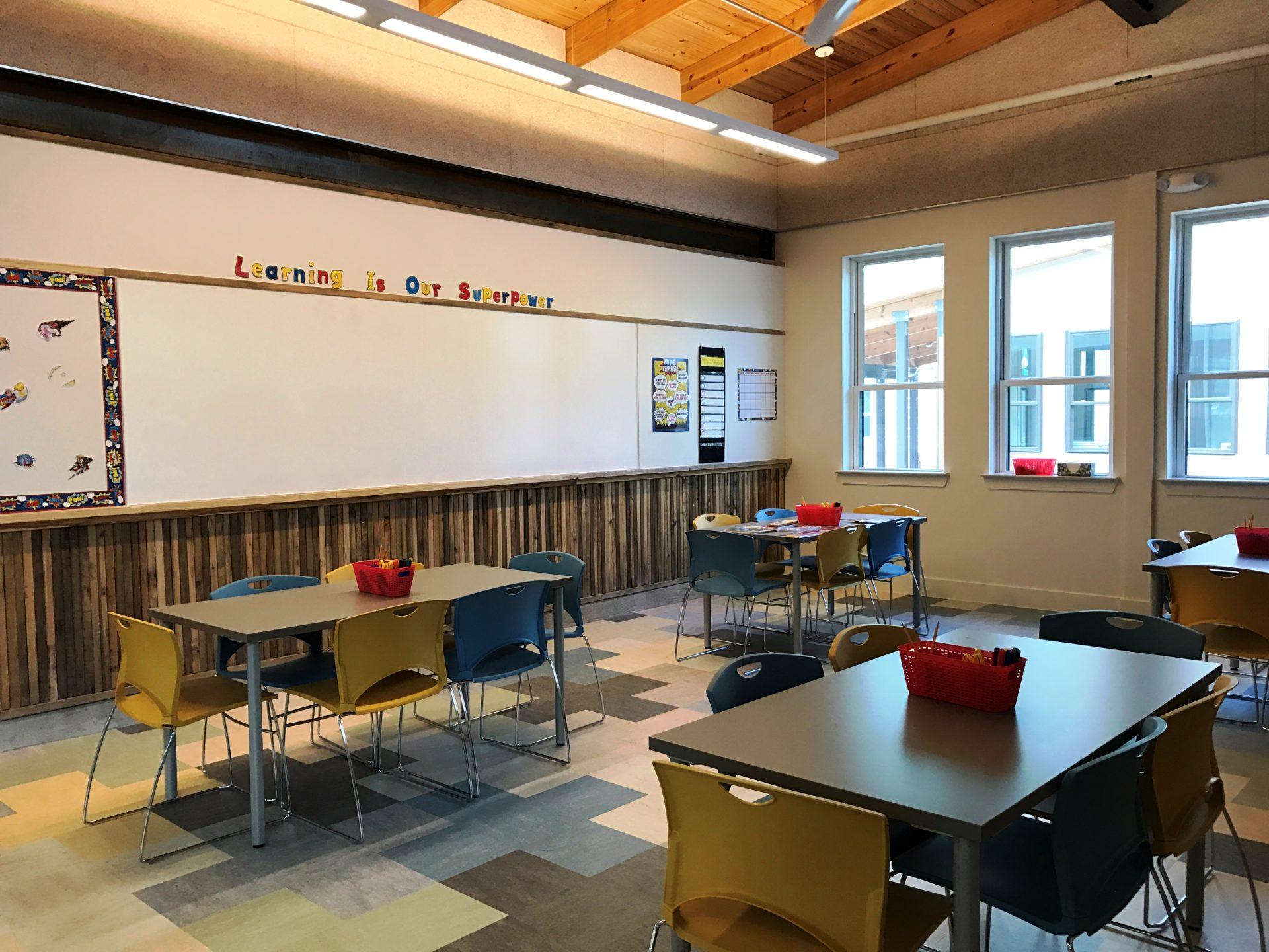 El Centro de Aprendizaje de Lakeline Station proporcionará una variedad de servicios de apoyo, incluyendo programas de aprendizaje y clases de fitness, nutrición y manejo de dinero.