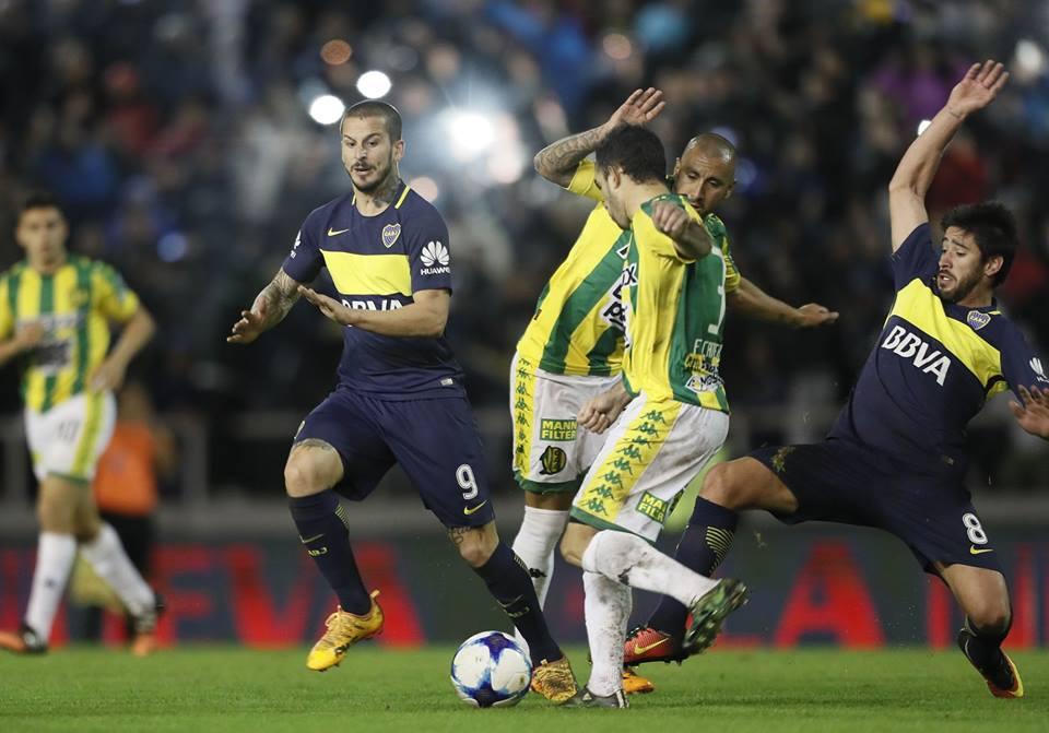 Boca 4 Aldosivi 0. BBVA