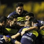Jugadores de Boca Juniors festejan. BBVA