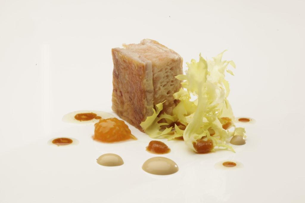 Cordero pan con tomate - El Celler de Can Roca (BBVA)