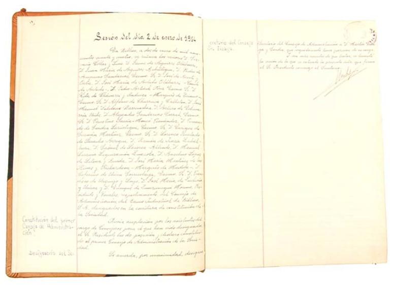 detalle-del-primer-libro-de-actas-del-banco-industrial-de-bilbao-en-1964-_-archivo-historico-bbva