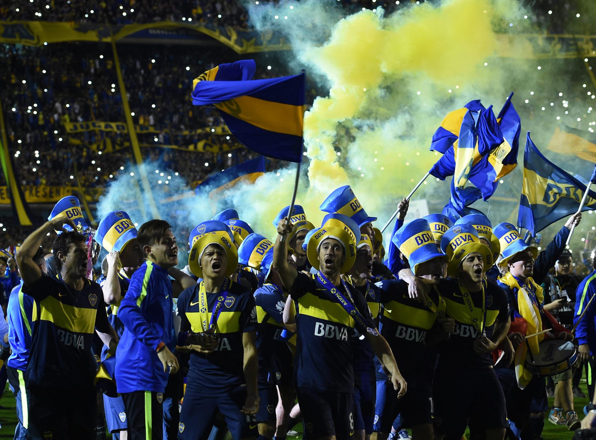 Jugadores de Boca. BBVA