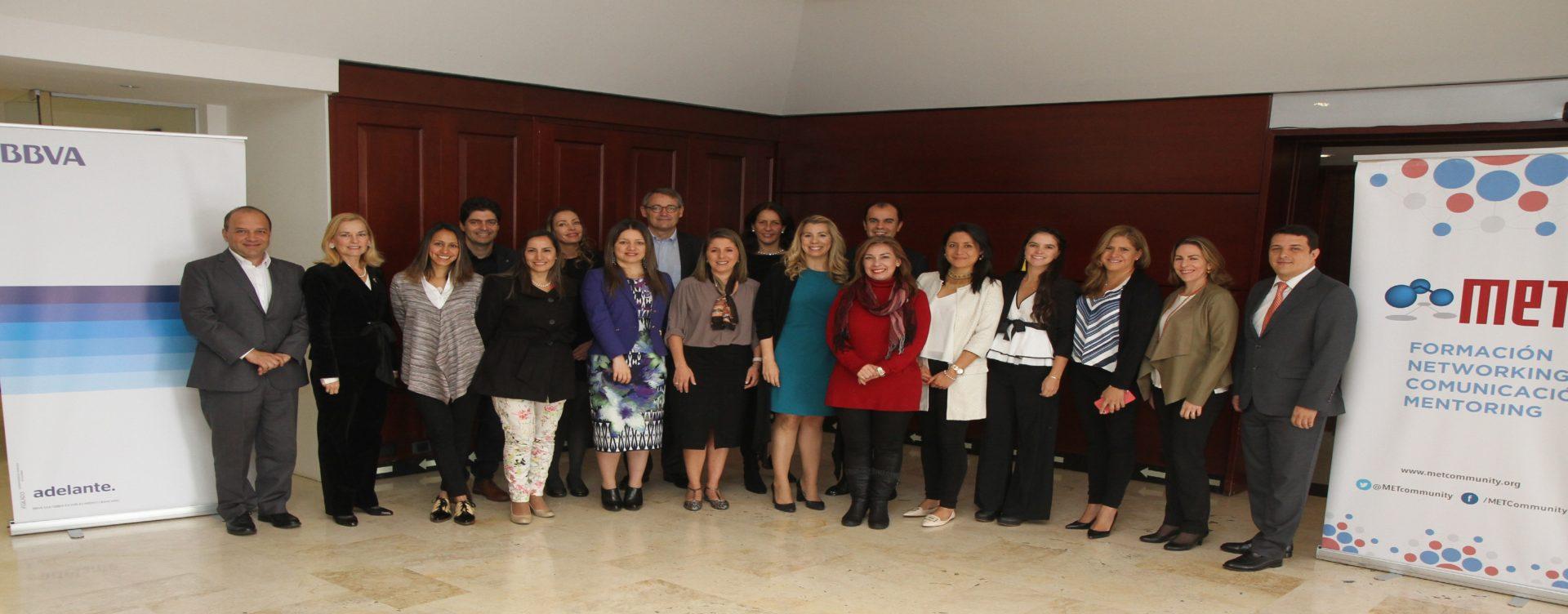 Grupo de ponentes foro MET-BBVA
