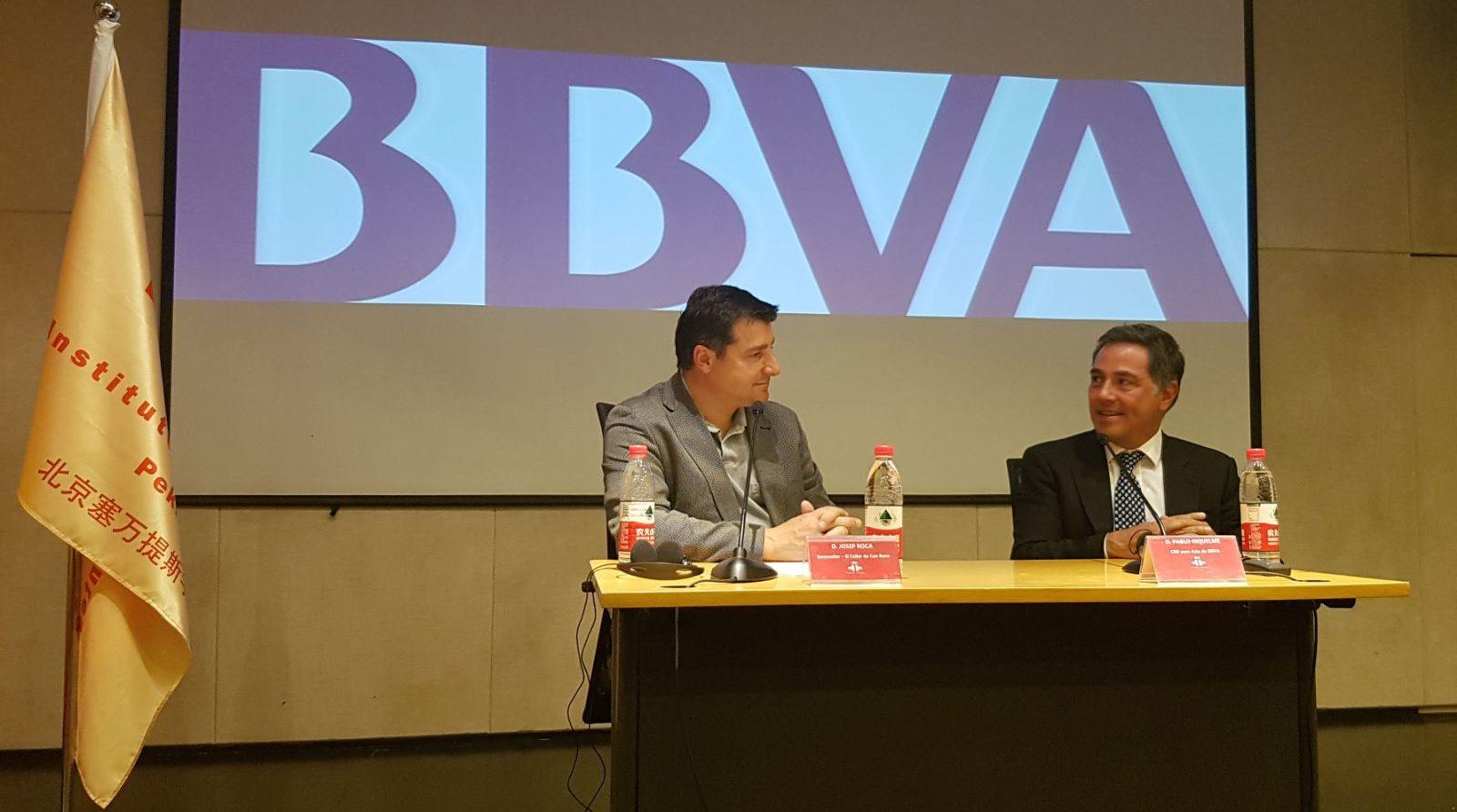 Rueda de prensa de Josep Roca en el Instituto Cervantes.
