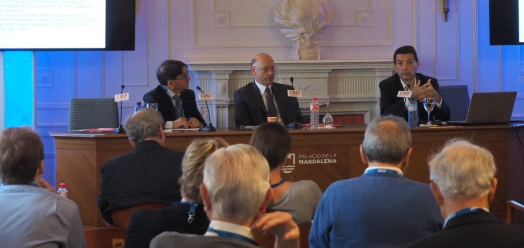 """Rafael Doménech, de BBVA Research, ha participado hoy en el seminario """"Reflexiones sobre el Futuro de la Eurozona"""" de la Universidad Menéndez Pelayo UIMP (Santander)"""