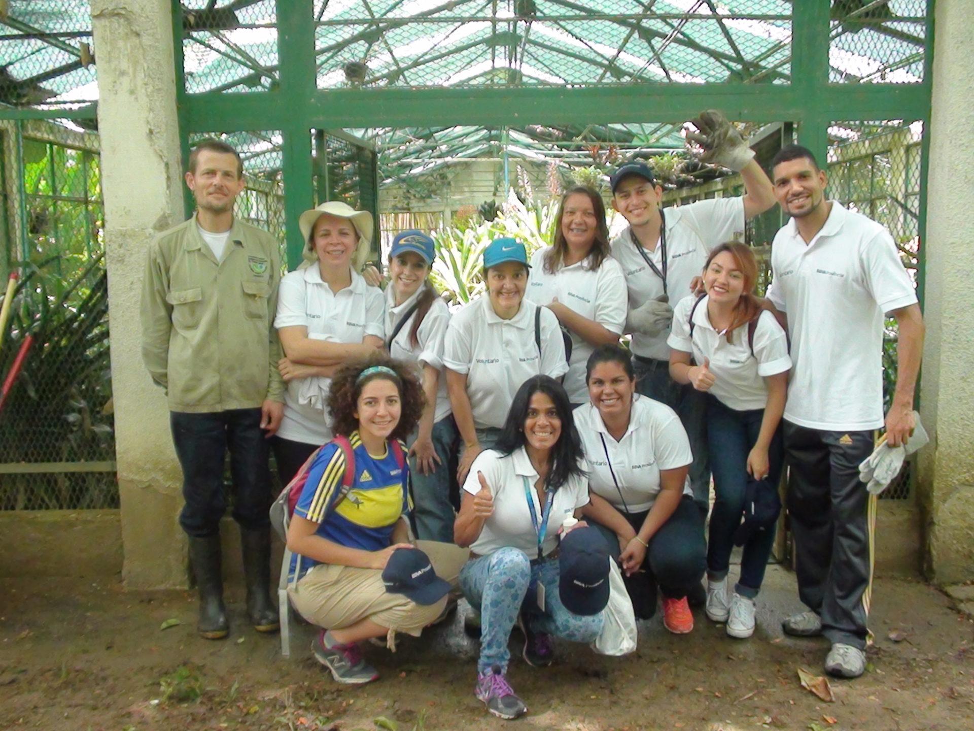 Voluntariado ambiental BBVA Provincial