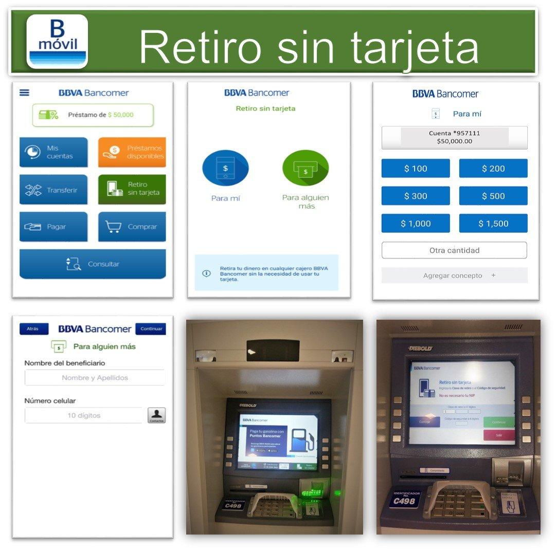 Bbva bancomer m vil logra m s de un mill n de retiros for Cajero automatico cerca de mi ubicacion