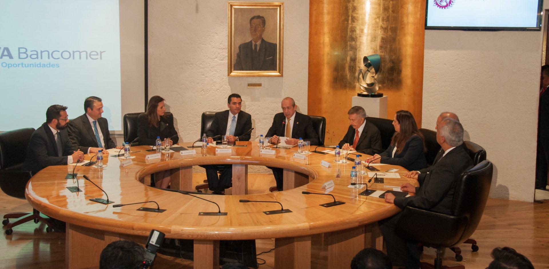 Firma de convenio de colaboración y vinculacion academica IPN-Bancomer portada