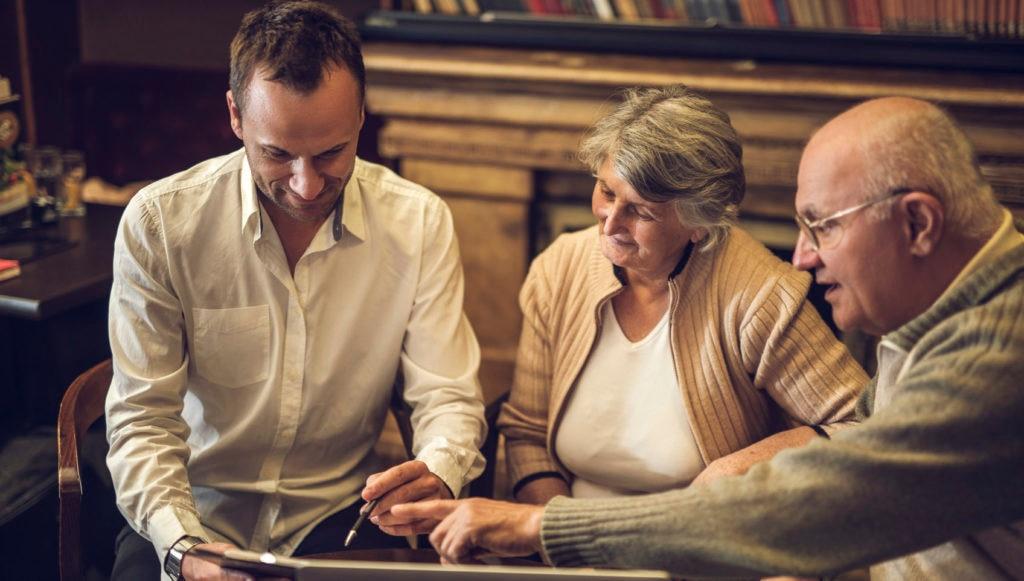 jubilación pensiones asesoramiento finanzas economía tercera edad pareja matrimonio BBVA recurso