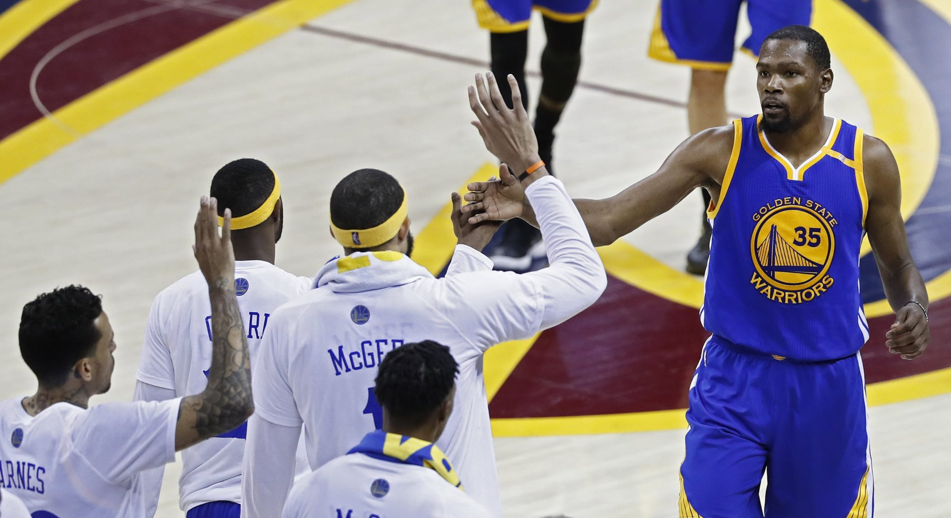 TERCER JUEGO DE LA FINAL NBA: GOLDEN STATE WARRIORS - CLEVELAND CAVALIERS