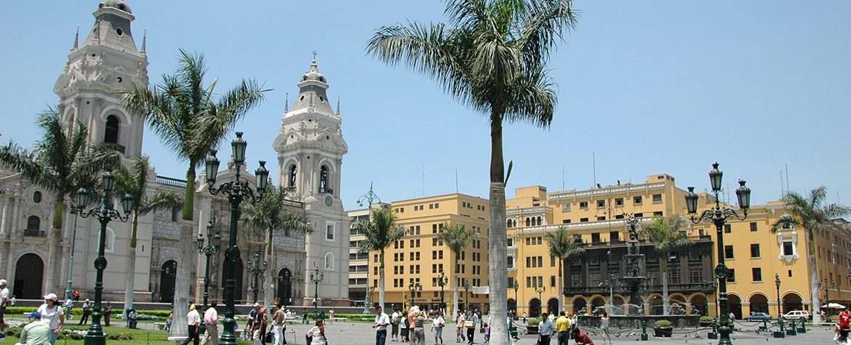 Fotografía de la ciudad de Lima, Perú.
