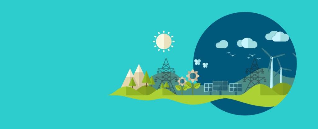 Fotografia de energías renovables