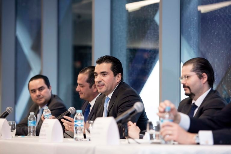 Firma de Convenio Bancomer IPADE Eduardo Osuna