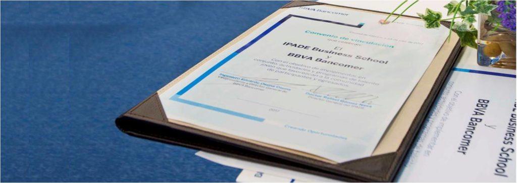 Convenio de colaboración Bancomer IPADE