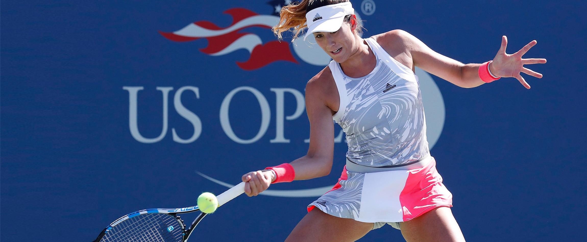 Garbiñe Muguruza prepara el US Open 2017