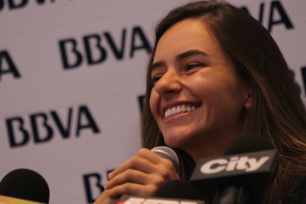 Sofía Gómez, deportista patrocinada por BBVA