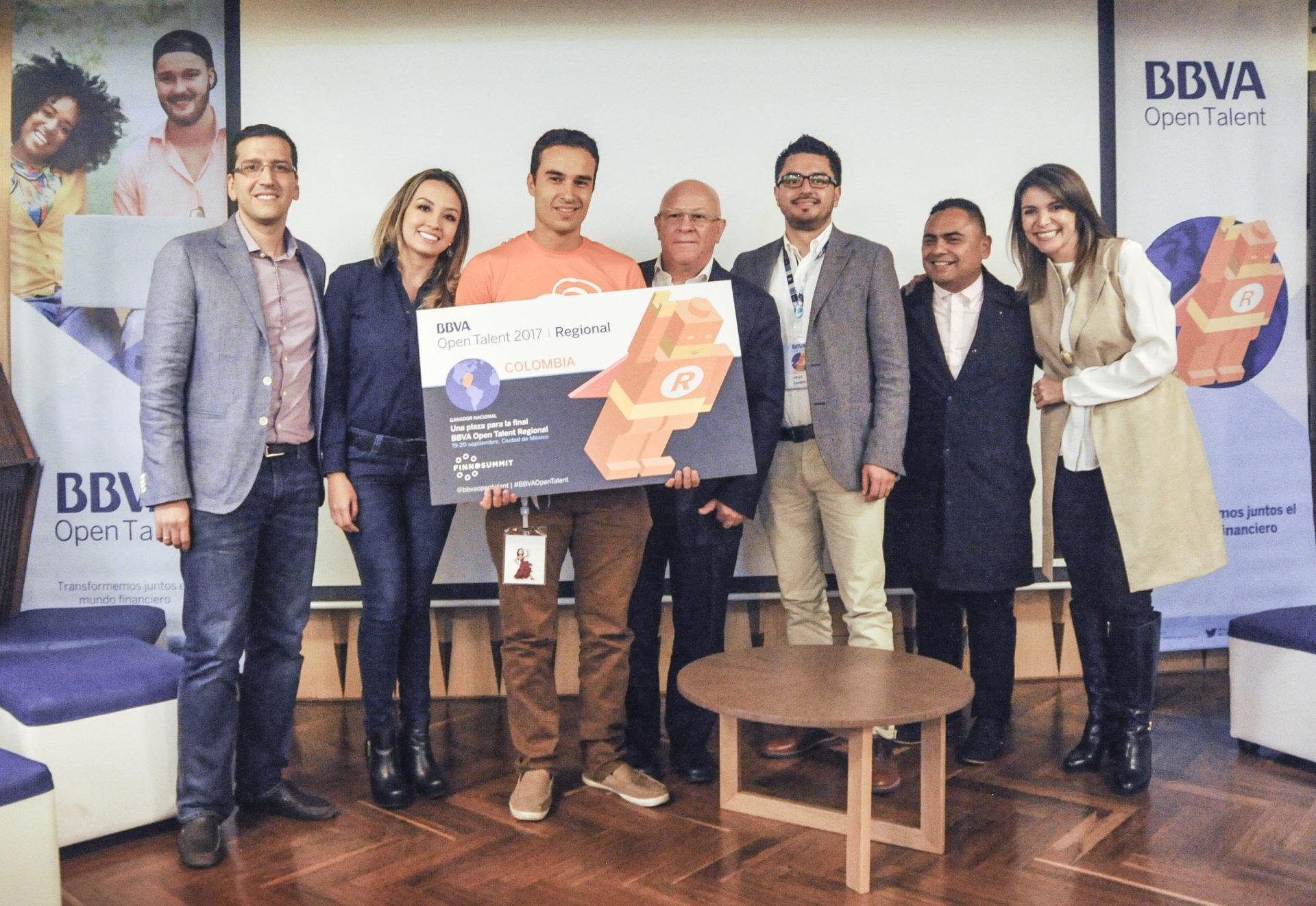 fotografía de Filapp, ganador de Open talent Colombia