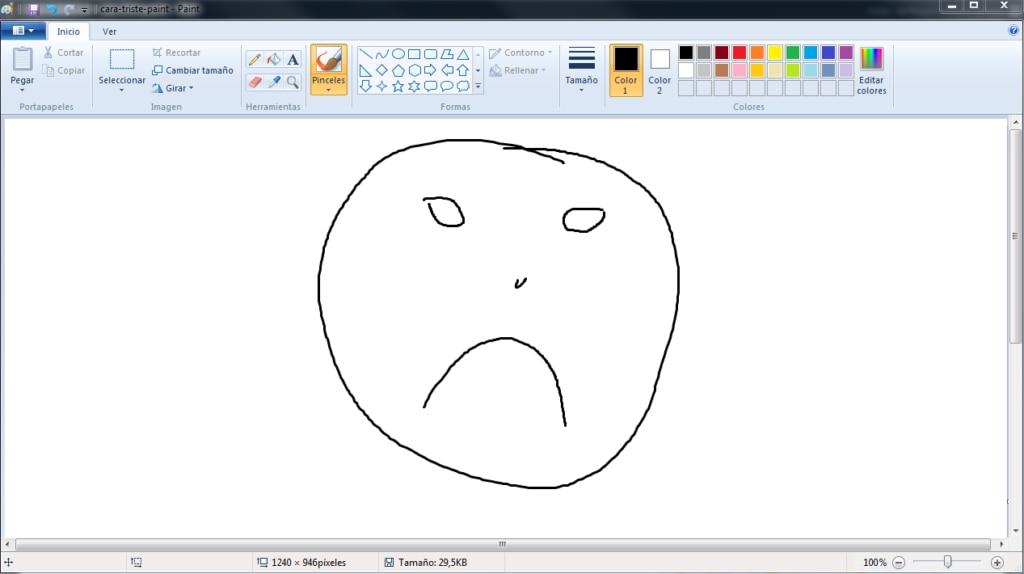 paint-cara-triste-foto
