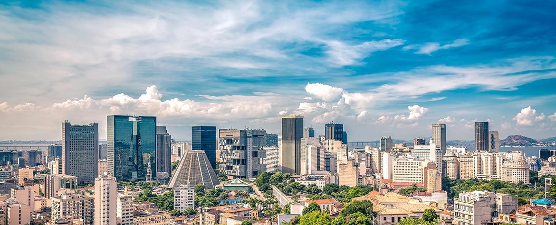 fotografia de rio de janeiro brasil centro financiero economia edificio ciudad previsiones bbva