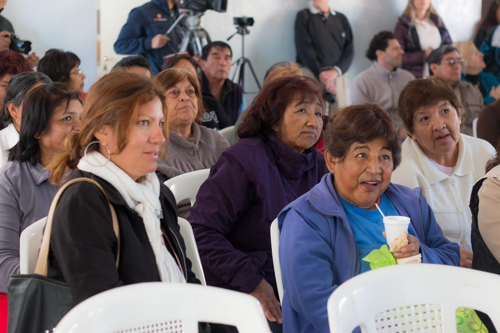 Educación financiera a jubilados en Salta. BBVA Francés y Anses