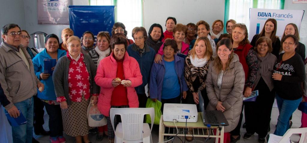 Educación financiera a jubilados en Salta