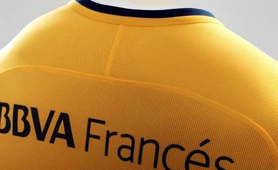 Camiseta alternativa Boca Juniors. BBVA