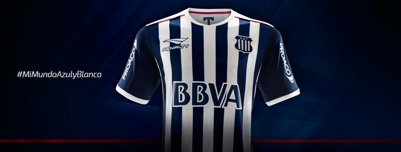Nueva camiseta de Talleres, Temporada 2017/18