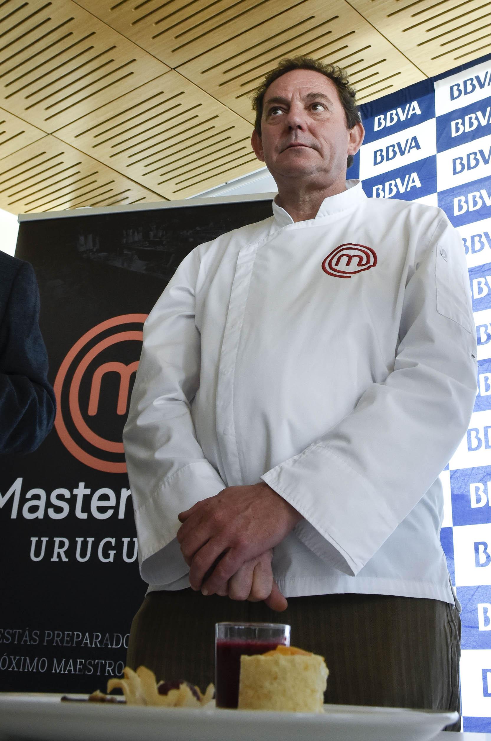 Chef francés Lauren Laine, jurado MastreChef Uruguay