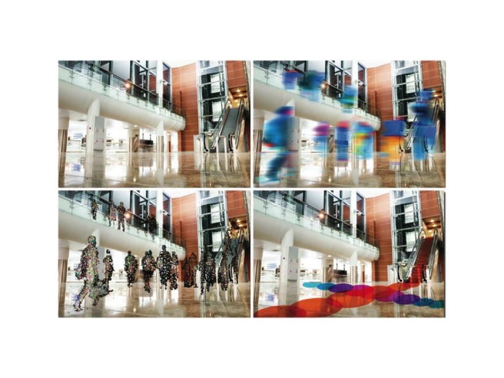 camara video gente centro comercial bbva