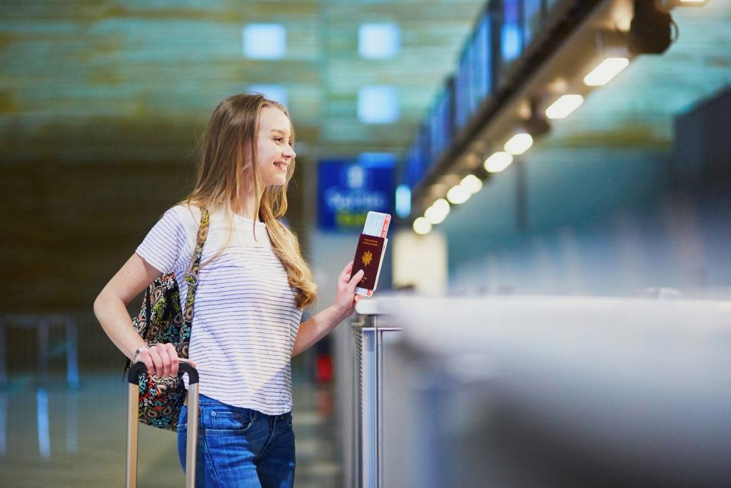 Recurso viaje pasaporte aventura