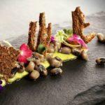 Fotografía de plato del restaurante Maido, comida Nikkei con inspiración e ingredientes peruanos