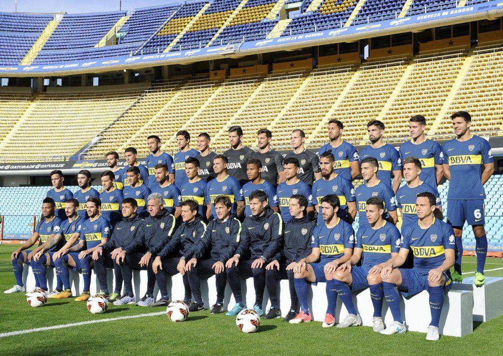 Plantel de Boca Juniors Temporada 2017/18