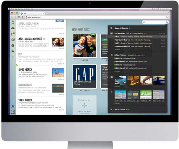 recurso - AOL - correos - ordenador