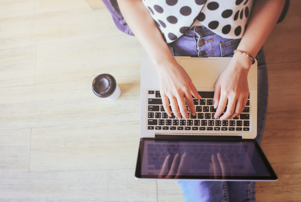laptop bbva
